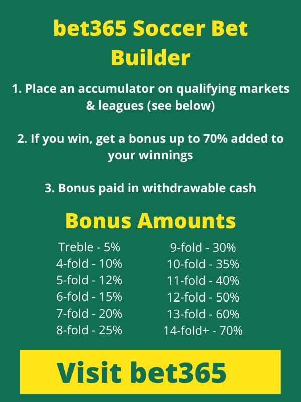 bet365 Soccer Bet Builder