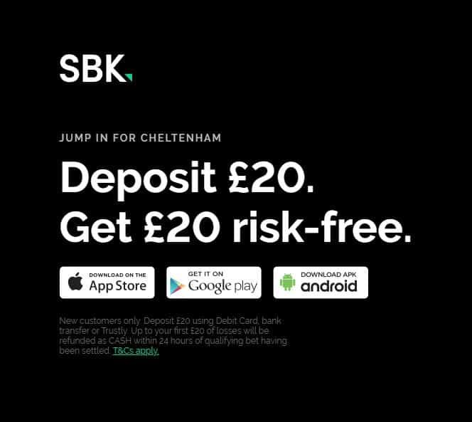 Cheltenham Free Bet