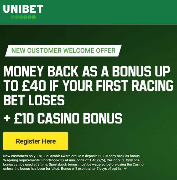 Unibet Cheltenham preview free bets
