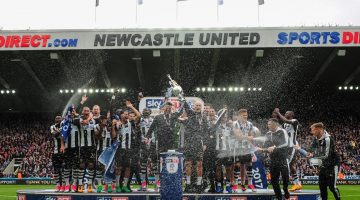 Newcastle title odds