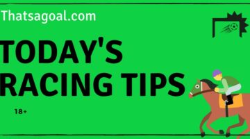 Racing tips for today