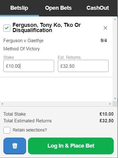 UFC249 betting tip