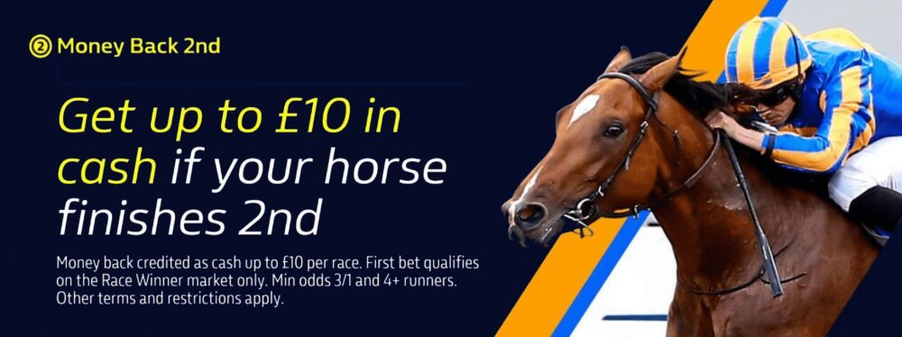 William Hill Money Back 2nd promotion
