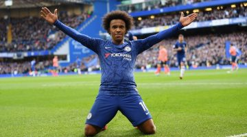 Willian next club transfer odds