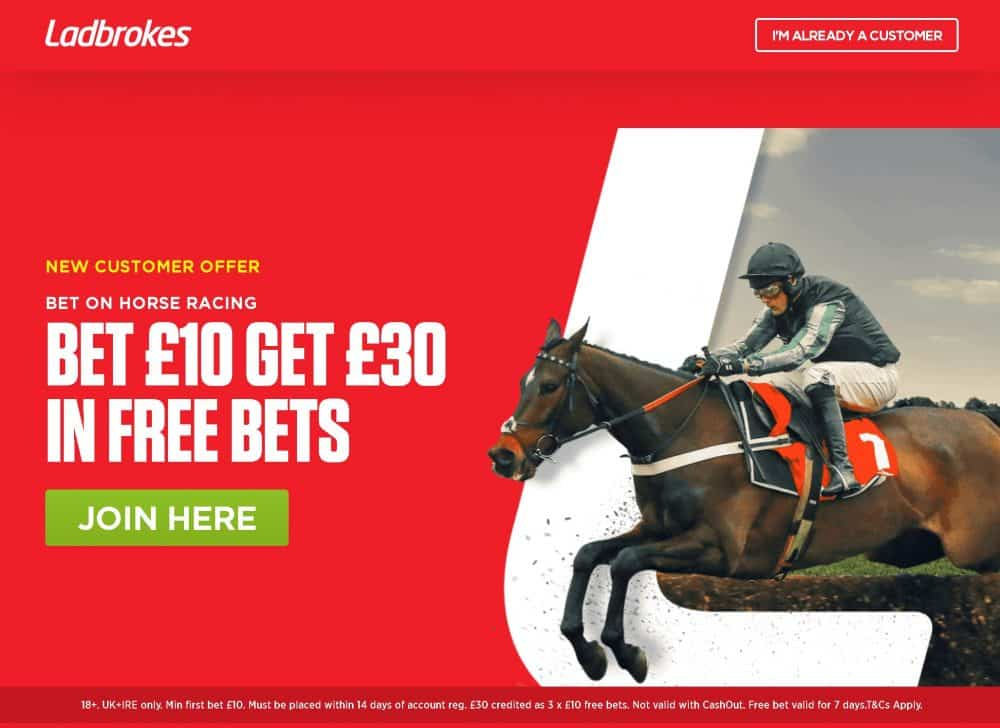 Ladbrokes horse racing promo code