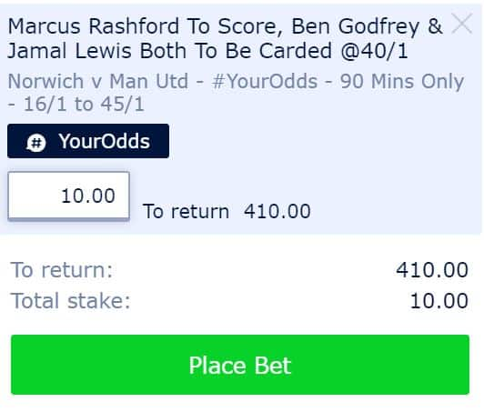 Norwich vs Man Utd betting tips