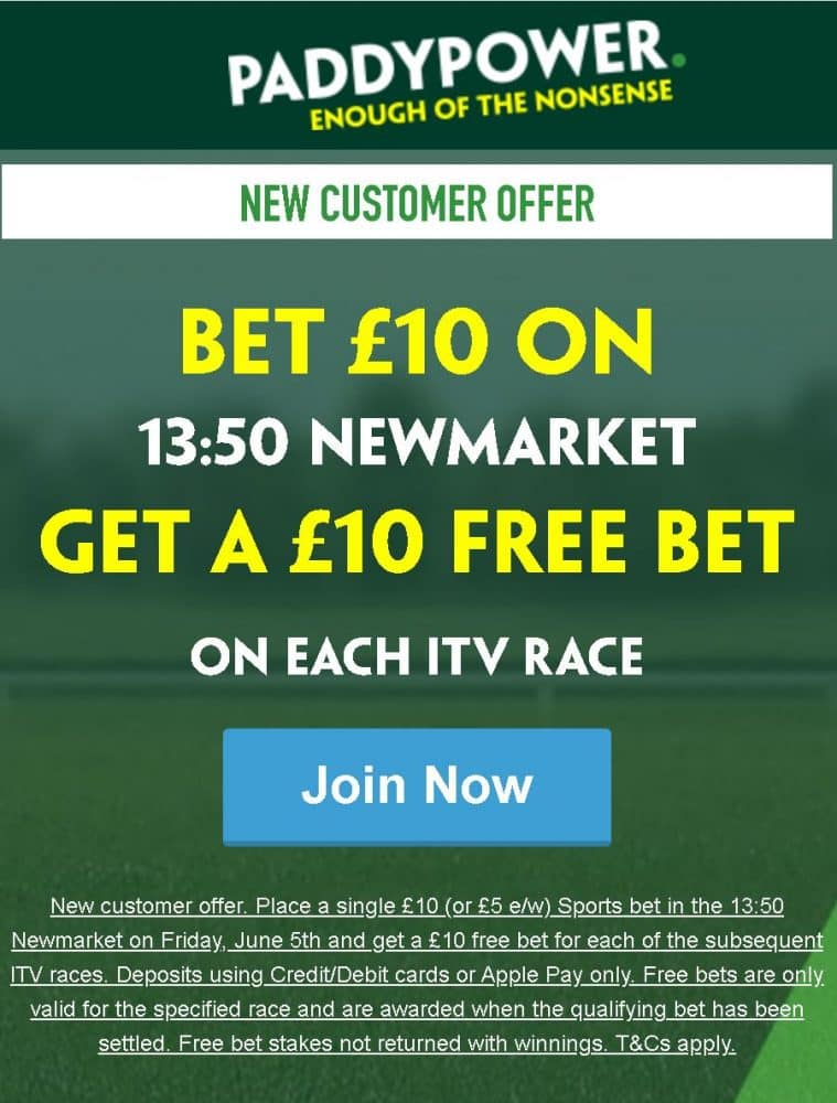 Free Bets Newmarket