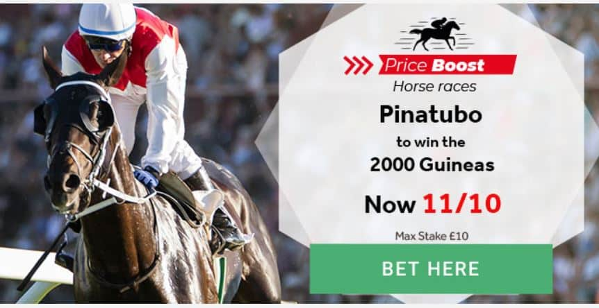 Pinatubo 2000 Guineas offer