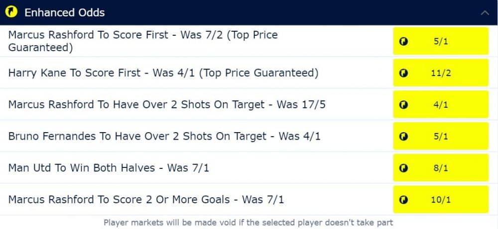Spurs vs Man United betting tips