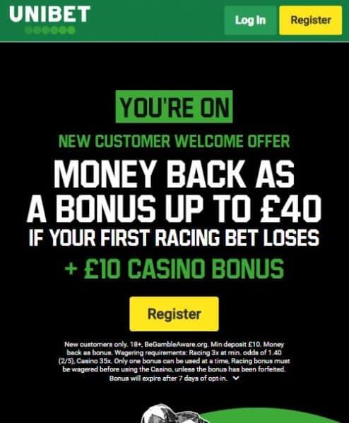 Unibet Royal Ascot free bet