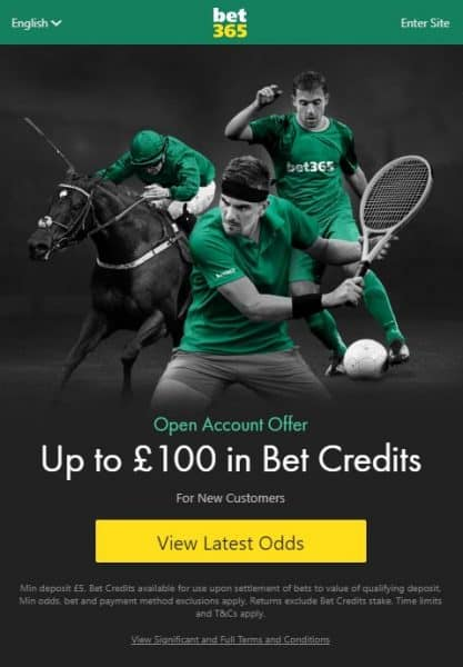 bet365 Royal Ascot sign-up offer