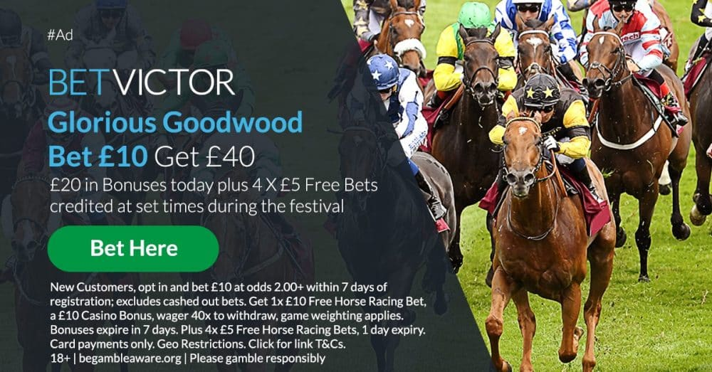 Bet Victor Goodwood sign-up offer