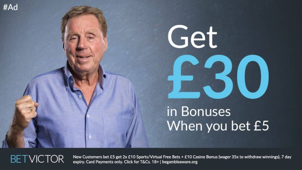 Bet Victor free bet offer