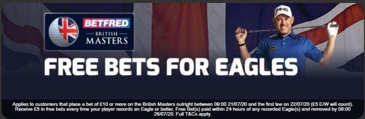 Betfred eagles offer