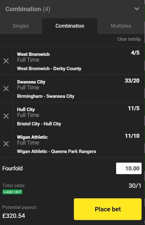 Championship betting tips
