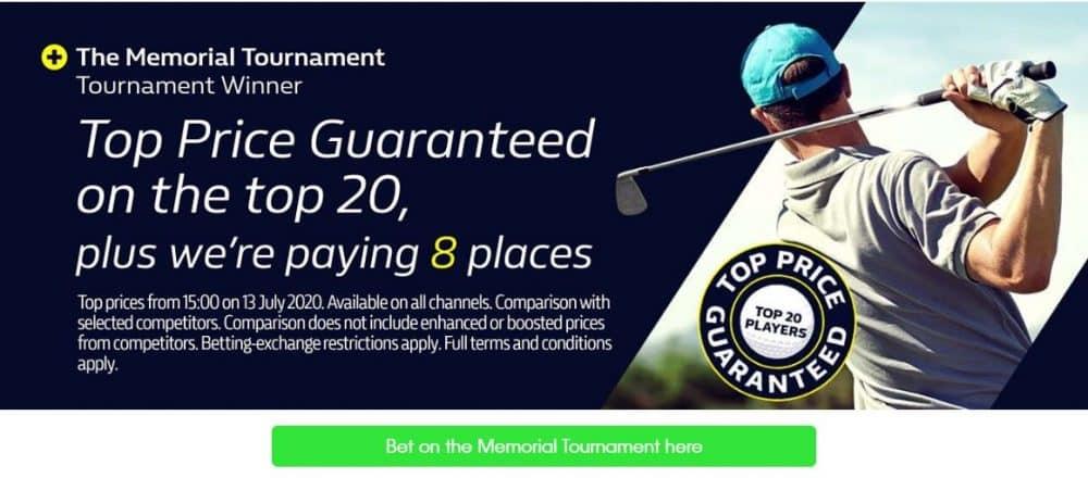 Memorial Tournament betting tips
