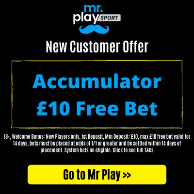 £10 free bet for an accumulator