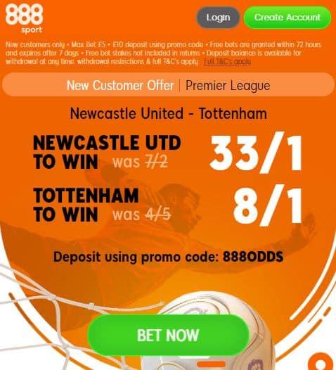 Newcastle Tottenham