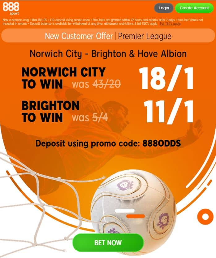 Norwich vs Brighton tips