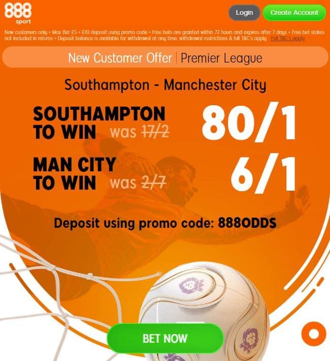Southampton Man City boosts