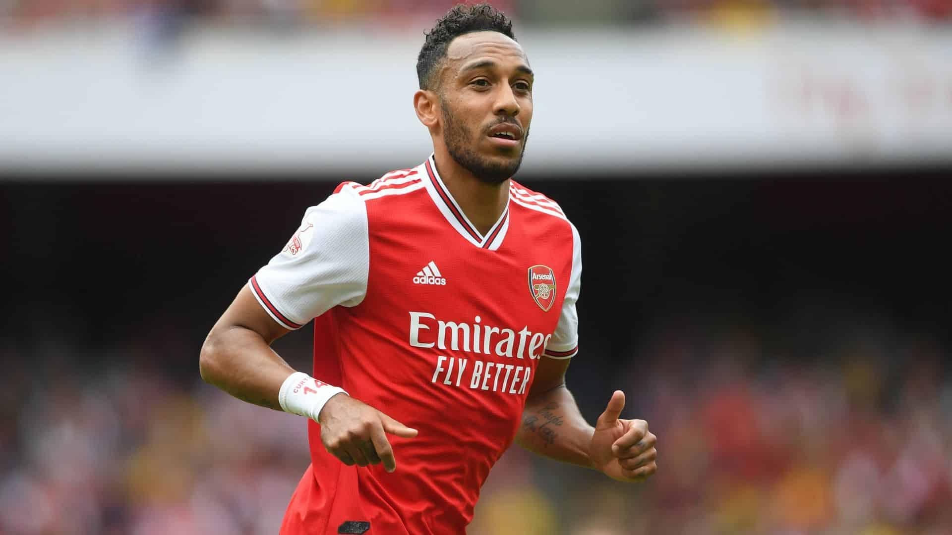 Arsenal's Aubameyang anytime scorer