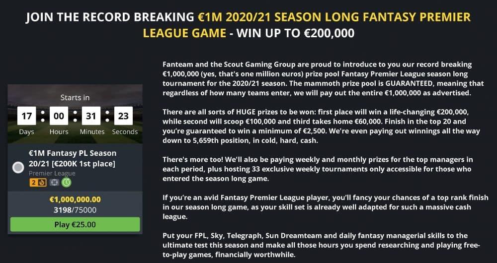 FPL Cash Game 2020/21