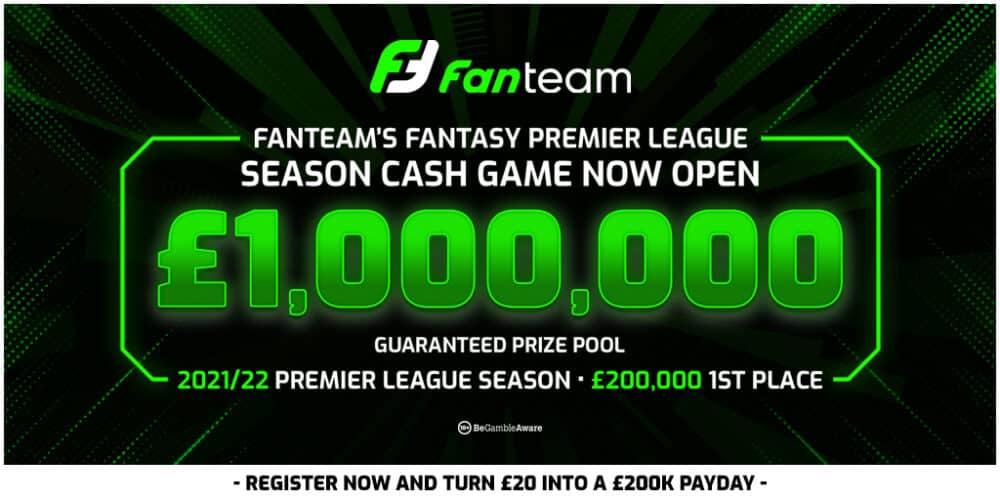 FanTeam FPL cash game