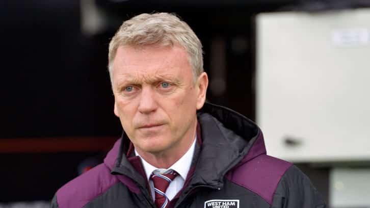 David Moyes odds to be sacked