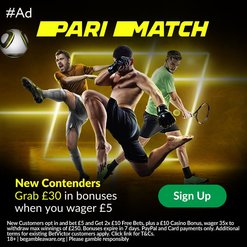 Parimatch free bets