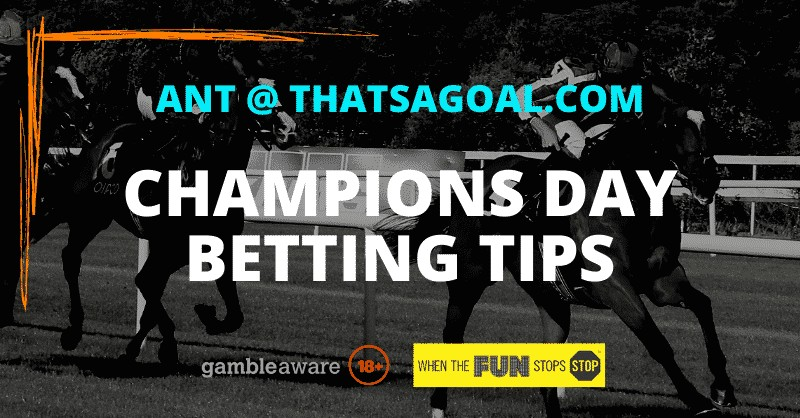 Champions Day betting tips