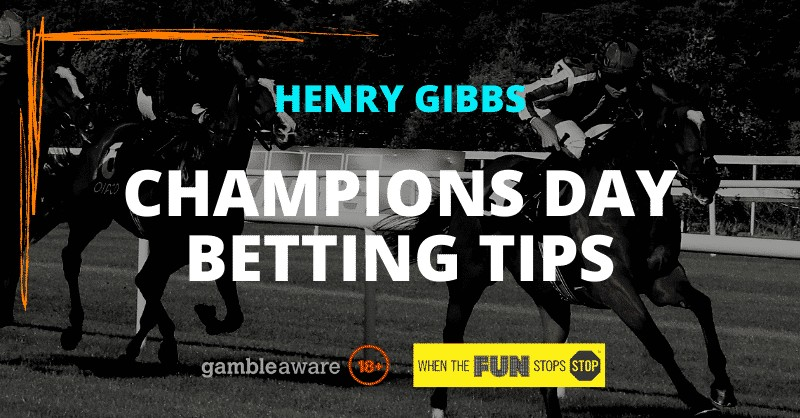 Champions Day 2020 tips
