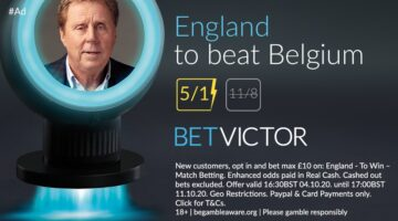 England price boost vs Belgium