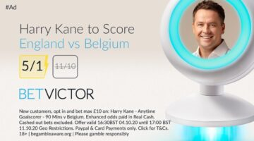 Kane to score 5/1 boost