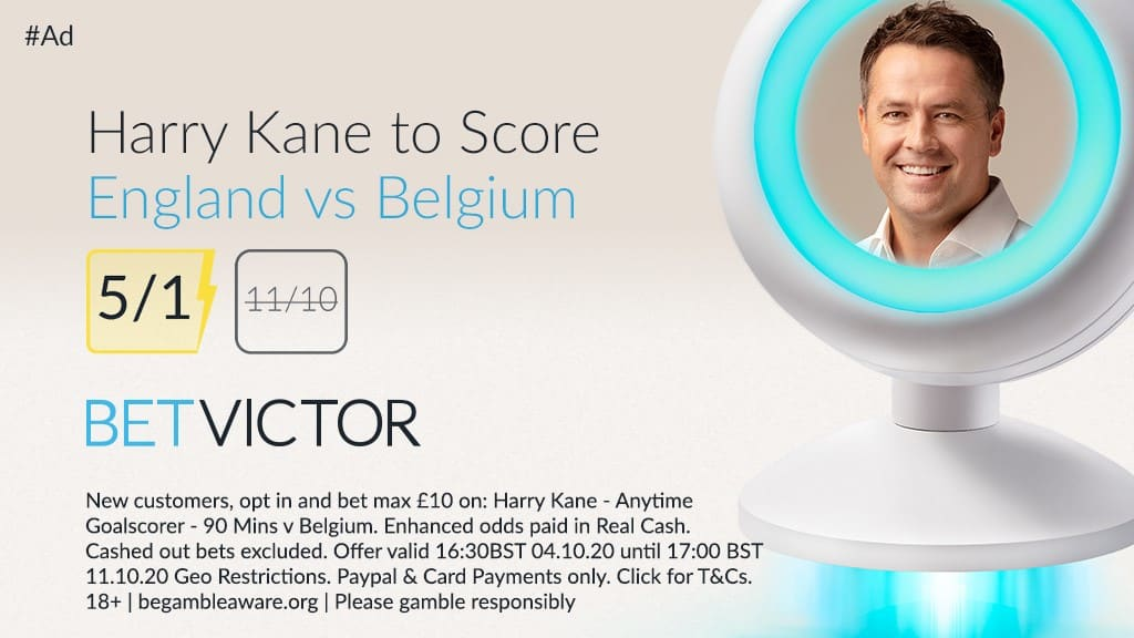 Kane to score 5/1 boost