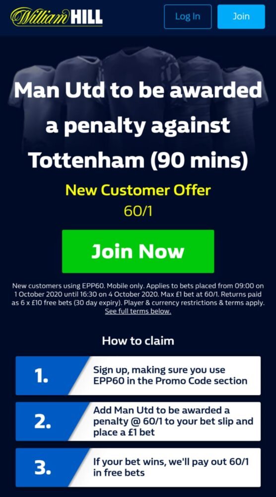 Man United penalty boost