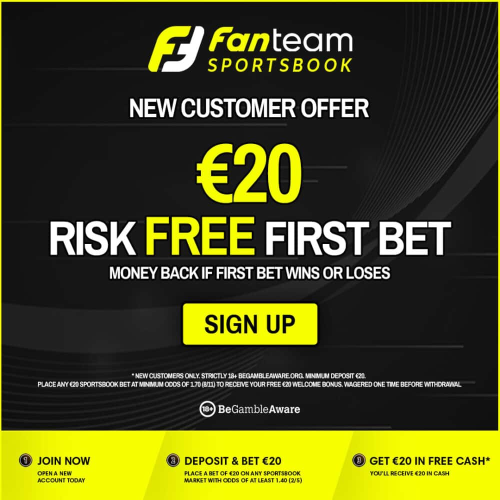 FanTeam risk free bet