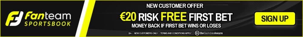 FanTeam risk free sign-up offer