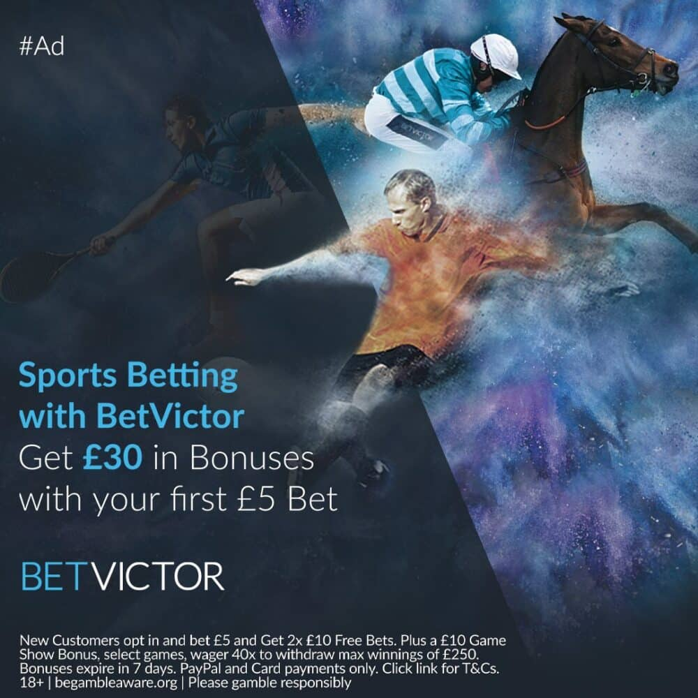 Bet Victor free bets
