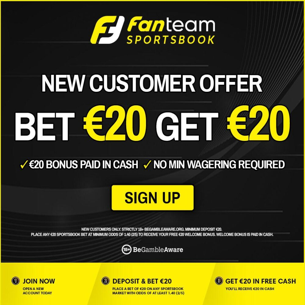 FanTeam offer free bet