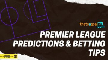 13/1 Premier League Accumulator Tip Today – Win £280 with a Risk Free Bet