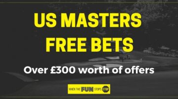 US Masters free bets