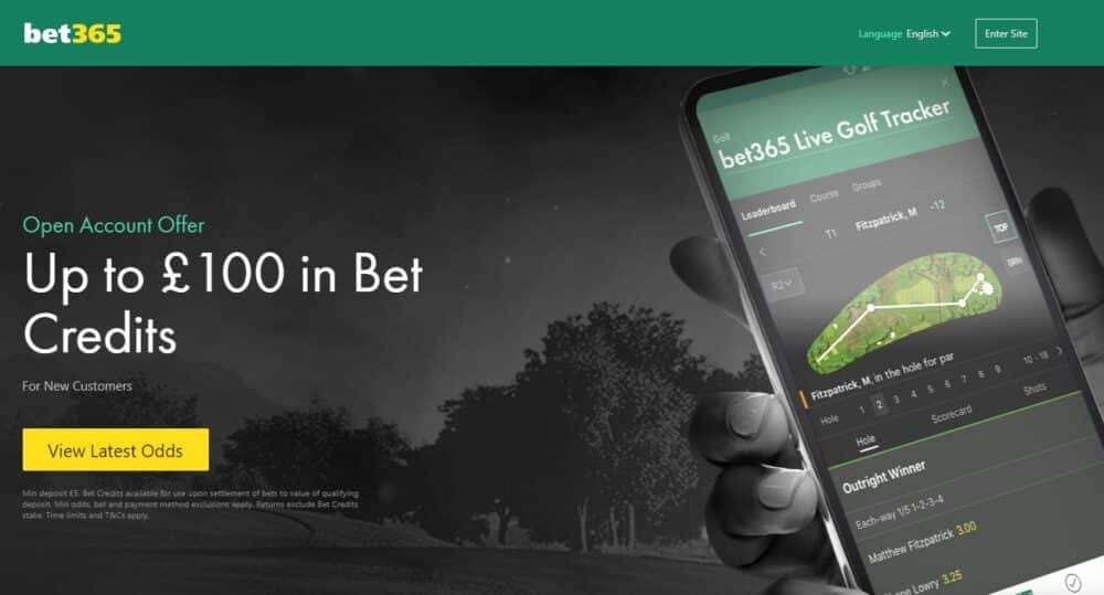 bet365 US Masters tips