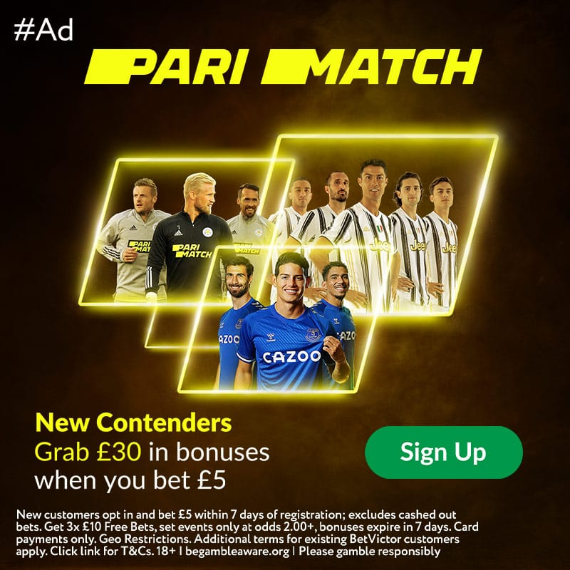 Parimatch free bet