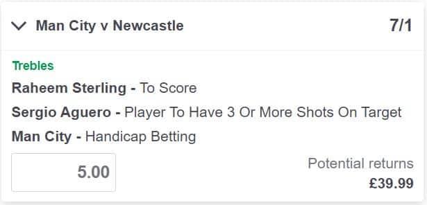 Man City vs Newcastle betting tips