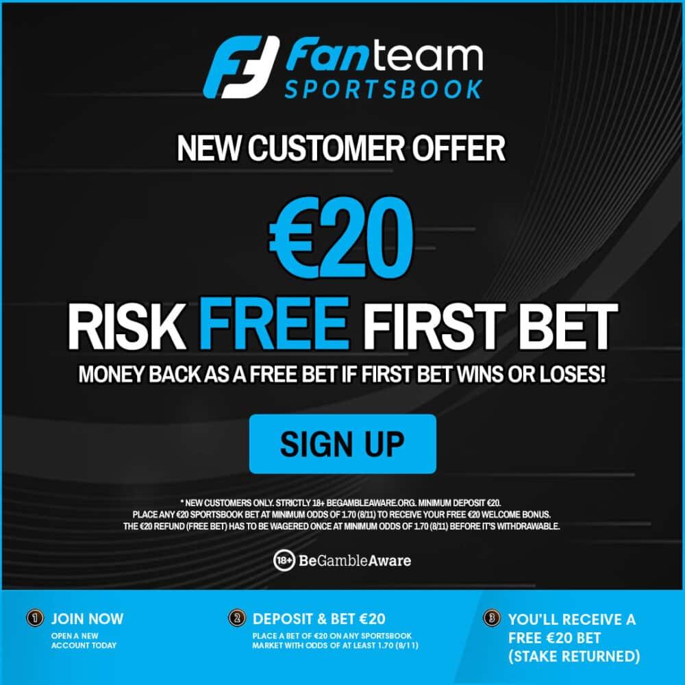 FanTeam Free Bet