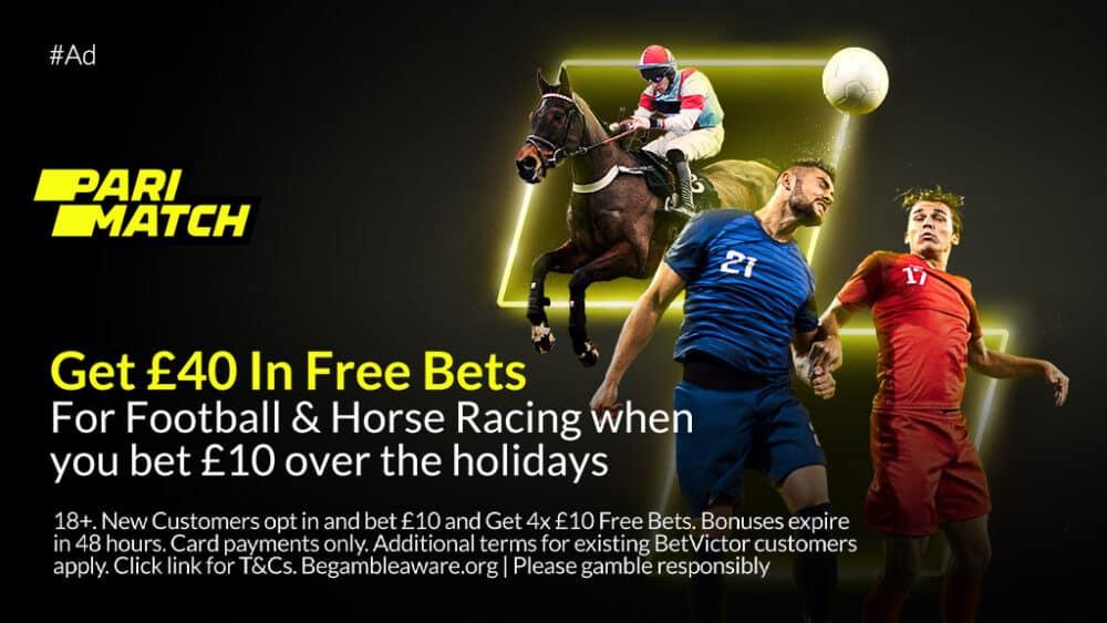 Parimatch £40 free bet