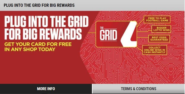 The Grid Ladbrokes bonuses