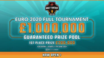 FanTeam Launch £1,000,000 Fantasy Football Tournament for Euro 2020