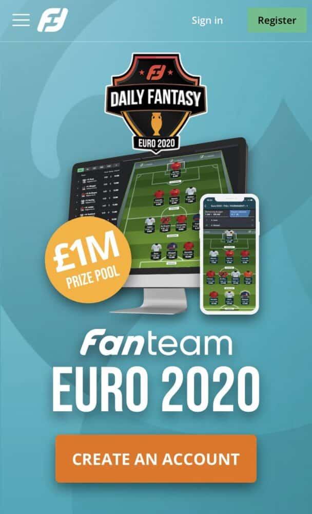 Fantasy Footy Euro 2020