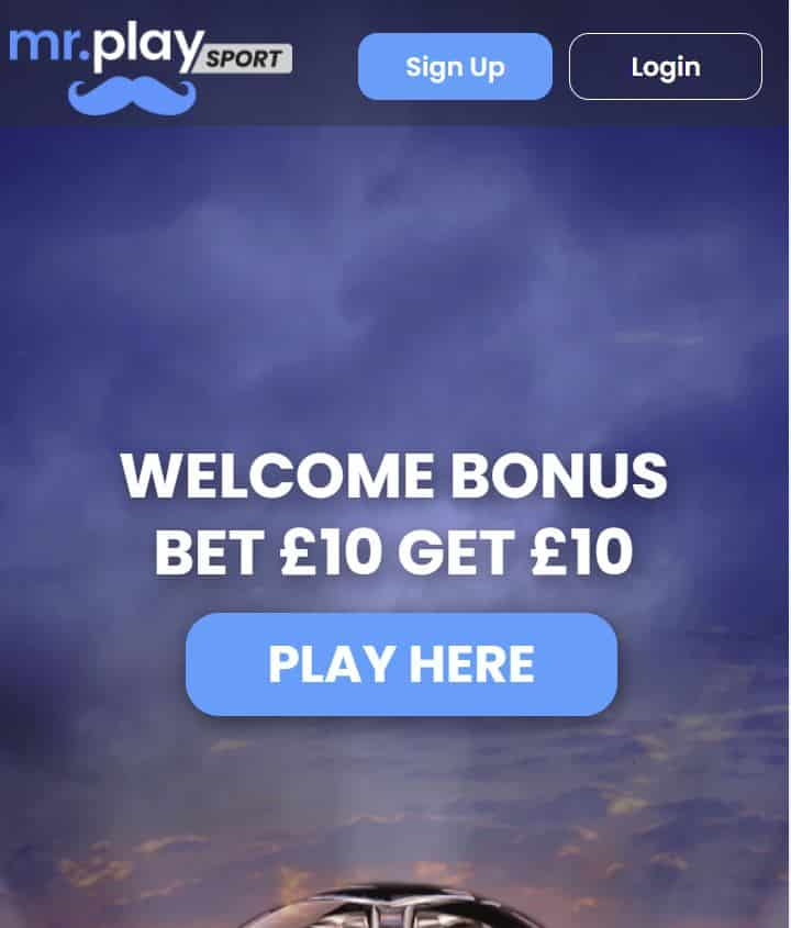 mr Play sign-up offer